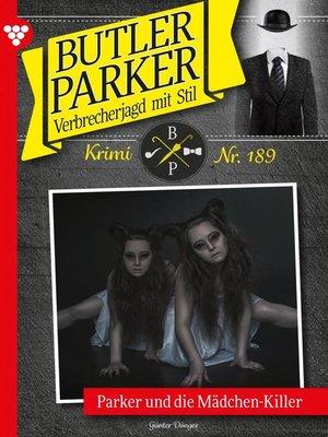 cover image of Butler Parker 189 – Kriminalroman