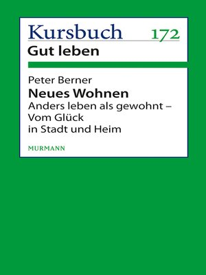 cover image of Neues Wohnen
