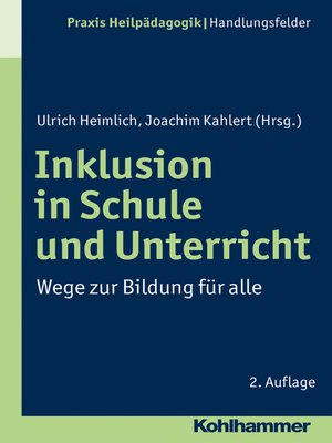 cover image of Inklusion in Schule und Unterricht