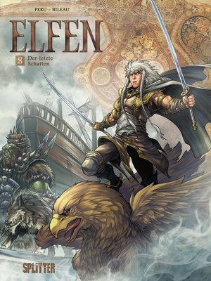 cover image of Elfen. Band 8