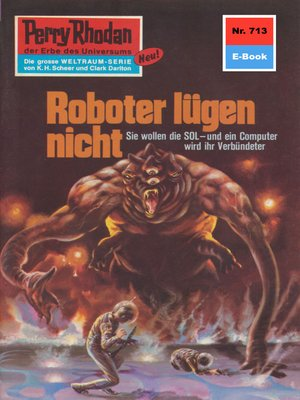 cover image of Perry Rhodan 713