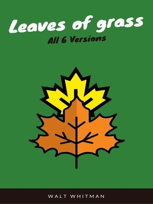 cover image of Leaves of Grass (WSBLD Classics)