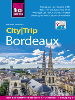 cover image of Reise Know-How CityTrip Bordeaux