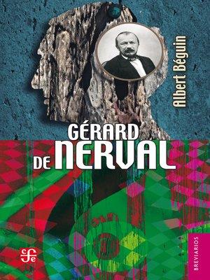 cover image of Gérard de Nerval