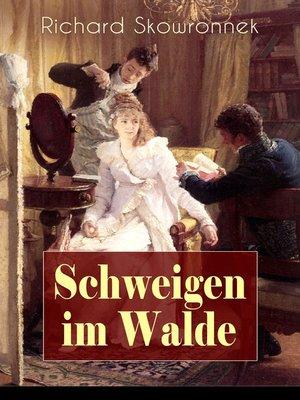 cover image of Schweigen im Walde