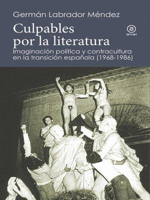 cover image of Culpables por la literatura