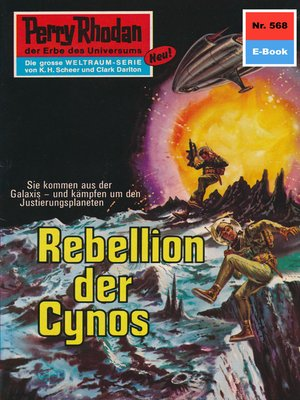 cover image of Perry Rhodan 568