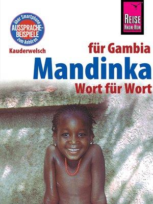 cover image of Mandinka--Wort für Wort (für Gambia)