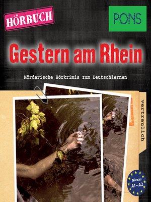 cover image of PONS Hörkrimi Deutsch
