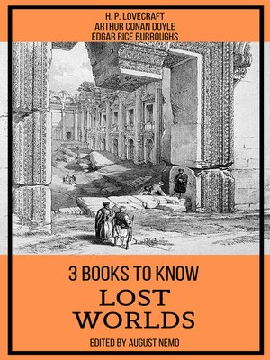 cover image of 3 books to know Lost Worlds