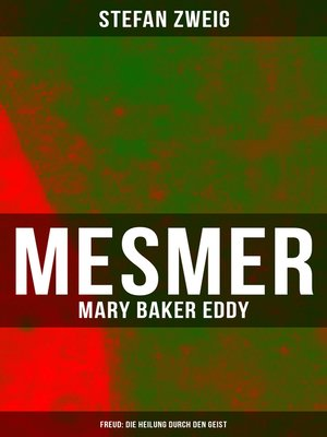 cover image of Mesmer--Mary Baker Eddy--Freud