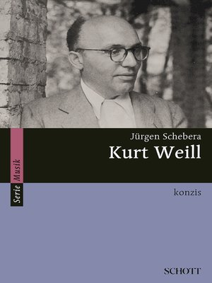 cover image of Kurt Weill