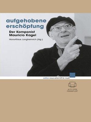cover image of Aufgehobene Erschöpfung
