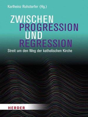 cover image of Zwischen Progression und Regression
