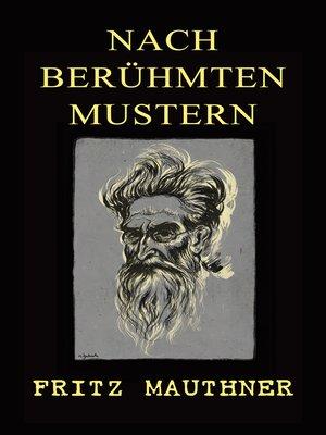 cover image of Nach berühmten Mustern