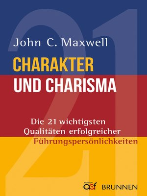 cover image of Charakter und Charisma