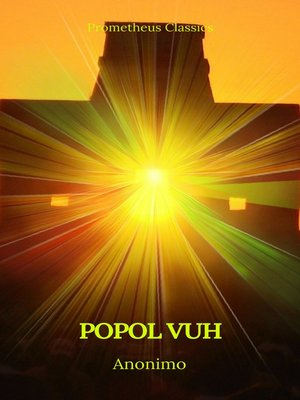 cover image of Popol Vuh (Prometheus Classics)