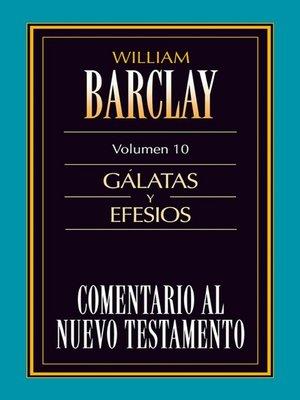 cover image of Comentario al Nuevo Testamento Volume 10