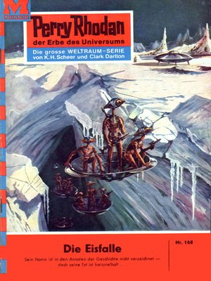 cover image of Perry Rhodan 168