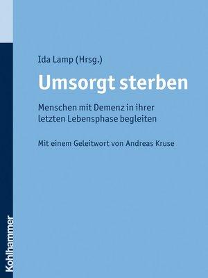 cover image of Umsorgt sterben