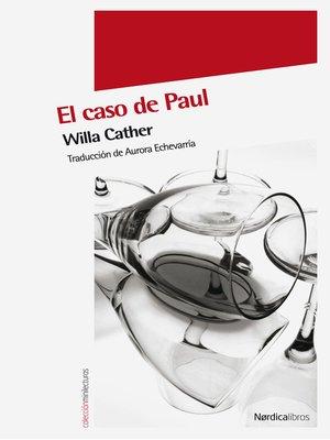cover image of El caso de Paul