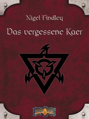 cover image of Das vergessene Kaer