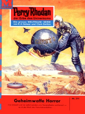 cover image of Perry Rhodan 211