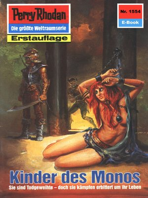 cover image of Perry Rhodan 1554