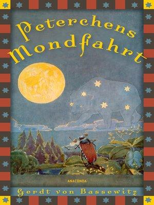 cover image of Peterchens Mondfahrt  mit Illustrationen