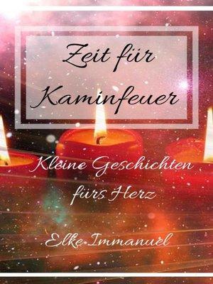 cover image of Zeit für Kaminfeuer
