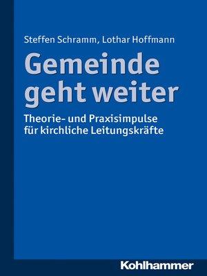cover image of Gemeinde geht weiter