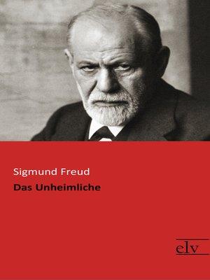cover image of Das Unheimliche
