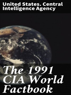 cover image of The 1991 CIA World Factbook