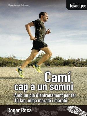 cover image of Camí cap a un somni