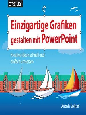cover image of Einzigartige Grafiken gestalten mit PowerPoint