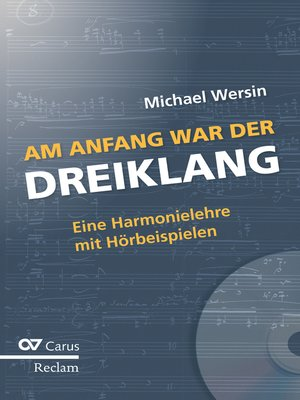 cover image of Am Anfang war der Dreiklang