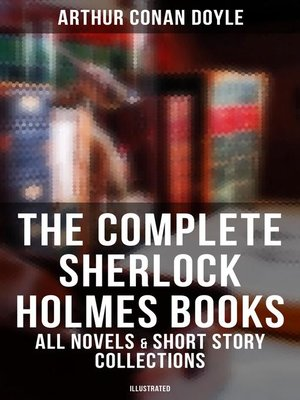 cover image of The Complete Sherlock Holmes Books