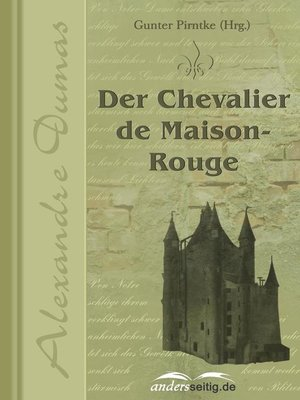 cover image of Der Chevalier de Maison-Rouge