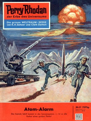 cover image of Perry Rhodan 5