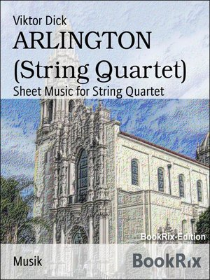 cover image of ARLINGTON (String Quartet)