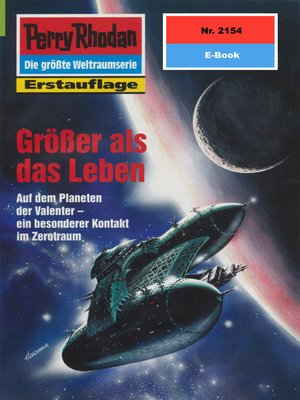 cover image of Perry Rhodan 2154