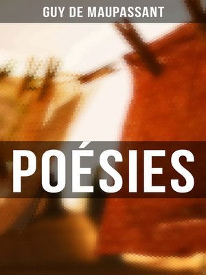 cover image of Poésies