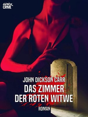 cover image of DAS ZIMMER DER ROTEN WITWE