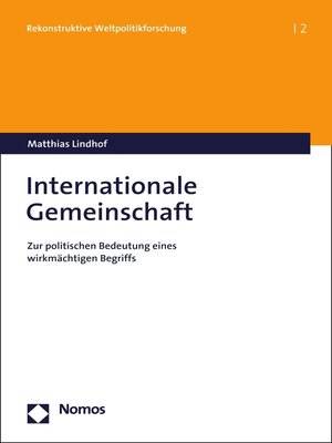 cover image of Internationale Gemeinschaft