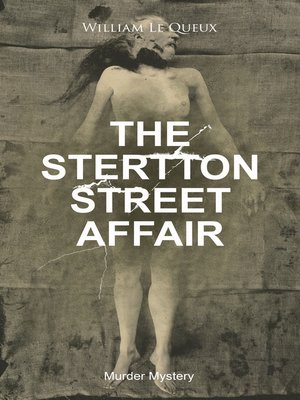 cover image of THE STERTTON STREET AFFAIR (Murder Mystery)