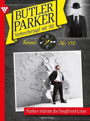 cover image of Butler Parker 176 – Kriminalroman