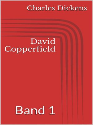 cover image of David Copperfield--Band 1