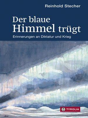 cover image of Der blaue Himmel trügt