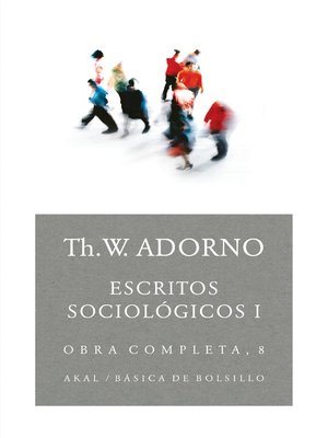cover image of Escritos sociológicos I