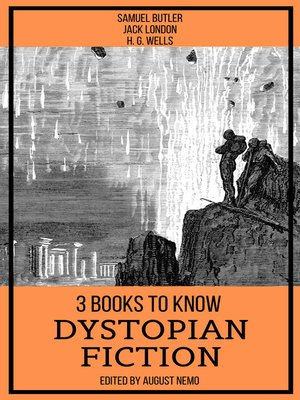 cover image of 3 books to know Dystopian Fiction